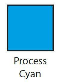 Dala Gouache 30ml - Process Cyan