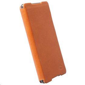 Krusell Kiruna FlipCase for the Sony Xperia Z3+, Xperia Z4, Xperia Z3+ Dual - Brown
