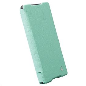 Krusell Malmo FlipWallet for the Sony Xperia Z3+, Xperia Z4, Xperia Z3+ Dual - Mint Green