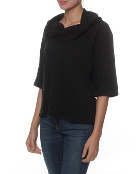 The Earth Collection Top Waterfall Collar - Black