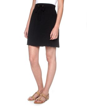 The Earth Collection Short Summer Skirt - Black