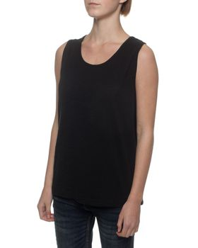 The Earth Collection Princess Style Top - Black