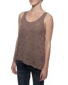 The Earth Collection Floaty Top - Off Mali