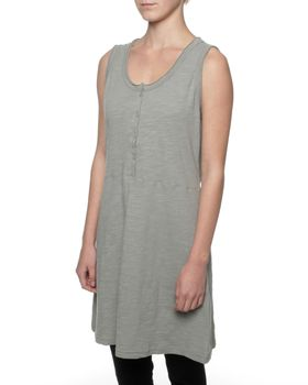 The Earth Collection Tunic Long Top - Shadow