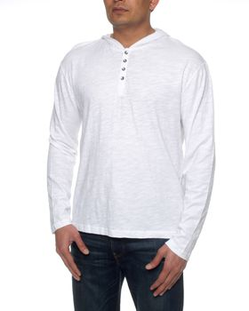The Earth Collection Men's Hoody Top - White