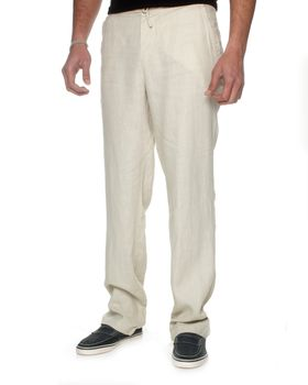 The Earth Collection Men's Long Lounge Pants - Dune