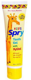 Spry - Tooth Gel - Strawberry and Banana