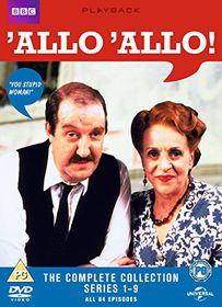 'Allo 'Allo: The Complete Series 1-9 (Import DVD)