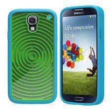 PureGear Groovy Gamer Case for Samsung S4 - Green/Blue