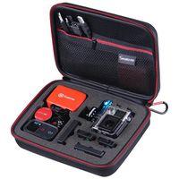 Smatree Medium Gopro SmaCase G160 - Black/Red