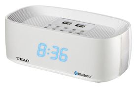 Teac Q7 Bluetooth Radio - White