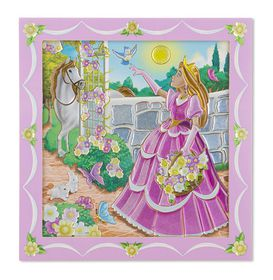 Melissa & Doug Princess Garden - Sticker By Number