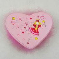 Pink Heart Jewellery Box