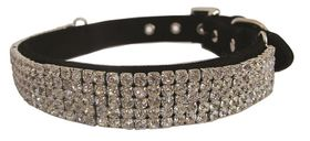 Pucci - Velvet Rhinestone Collar - Black - Medium (1.9cm x 40cm)