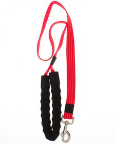 Pucci - Lead With Soft Handle - Red - Extra-Large (25cm x 120cm)