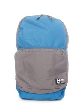 Crosshatch  Soarano Backpack in Blue and Grey