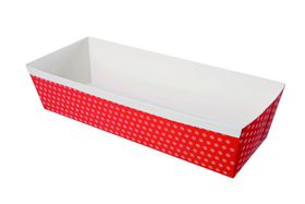 Eddingtons - Red Paper Loaf Pans - 0.9kg