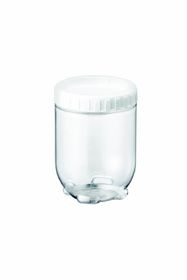 Lock and Lock - Interlock Round Clear With White Lid - 700ml
