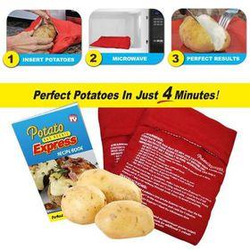 Homemark - Potato Express Microwave Potato Cooker