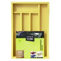 House of York Drawer Organiser - Summer Sun Yellow