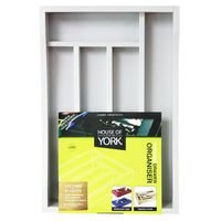 House of York Drawer Organiser - Calm Water Grey