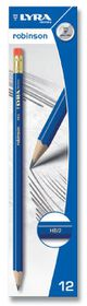 Lyra Robinson 12 HB Graphite Pencils With Eraser Tip