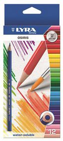 Lyra Osiris Aquarell 12 Colour Pencils + Brush