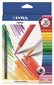 Lyra Osiris Aquarell 36 Colour Pencils + Brush