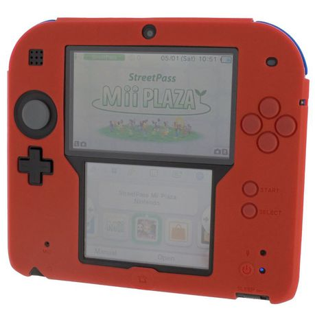 zedlabz silicone protective cover for nintendo 2ds red buy