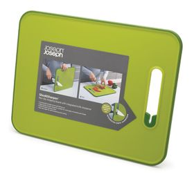 Joseph Joseph - Slice and Sharpen Large Cutting Board - Green