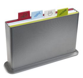Joseph Joseph - Index Large Chopping Board - Silver