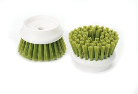 Joseph Joseph - Palm Scrub Replacement Bristle Heads - Green