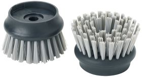 Joseph Joseph - Palm Scrub Replacement Bristle Heads - Grey