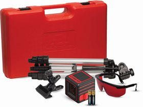 ADA - 3D Cross Line Laser Kit - Red