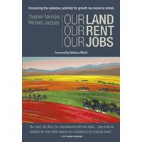 Our Land Our Rent Our Jobs P/B