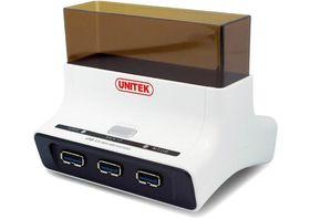 Unitek USB 3.0 OTB Sata HDD Dock With 3-Port Hub