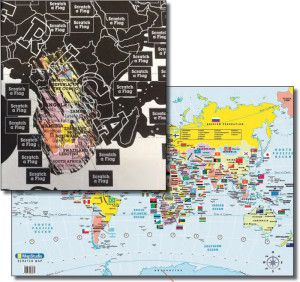 Scratch map world deluxe buy online in south africa takealot gumiabroncs Choice Image
