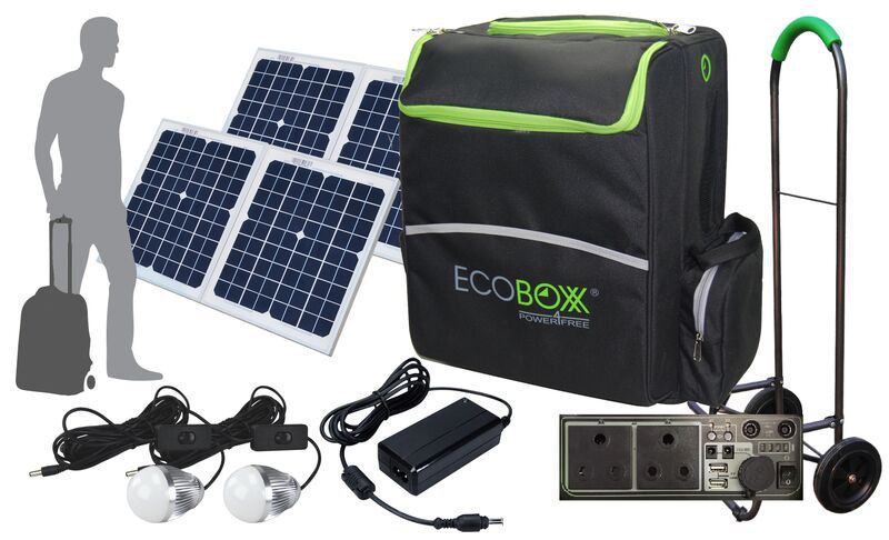 Ecoboxx 600 Portable Solar Power Kit Buy Online In