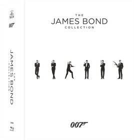 James Bond Collection Box Set (Blu-ray)