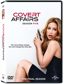 Covert Affairs Season 5 (DVD)
