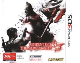 Resident Evil: The Mercenaries Oz - 3D (Nintendo 3DS)
