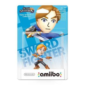 amiibo Super Smash Bros. Collection Mii Swordman 49