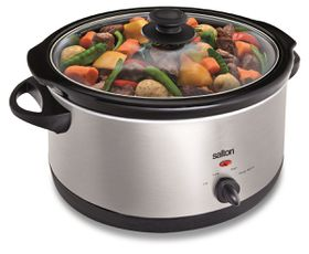 Salton - 6.5 Litre Manual Slow Cooker