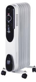 Goldair - 7 Fin Heater - White