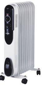 Goldair - 9 Fin Heater - White