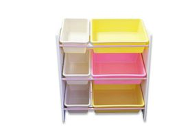Kids Storage 3 Layer Rack - Pink