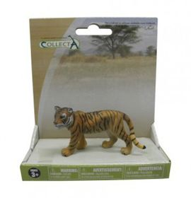 Collecta Wild Tiger Cub - Walking - Medium