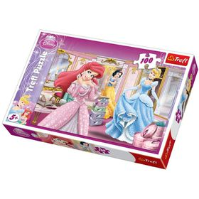 Trefl Princess - Set Up For A Gala 100 Piece Puzzles