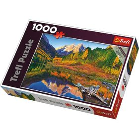 Trefl Maroon Lake Aspen 1000 Piece Puzzle