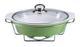 Wellberg - Oval Food Warmer - Green